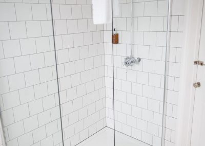 Shower Room in Room 7 at Highcliffe